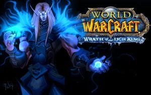 warcraft death knight desktop by ErikVonLehmann