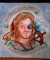 Captain Ron by CraftyTibbles