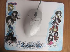 my mouse pad by ooNerina