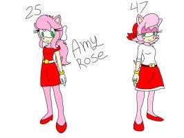 Sonic Next gen parents 1: Amy Rose  by Smileverse