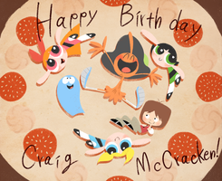 Happy Birthday Craig McCracken! by robotoco