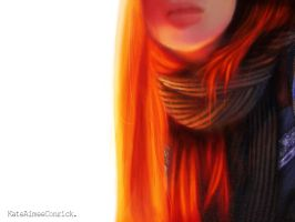 Self with scarf. by eep
