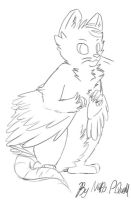 New Quoll Lineart by Dr-Quollchops