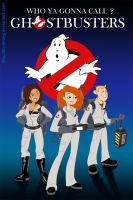 Kim Possible in Ghostbusters by FitzOblong