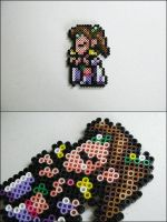 Final Fantasy 4 Rosa bead sprite by 8bitcraft