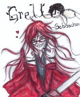 Black butler-grell by NENEBUBBLEELOVER