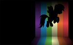 Rainbow Dash Wallpaper by UP1TER