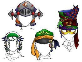 Hat Designs by 4got10memory