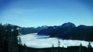 Gosau in clouds by tepithebest
