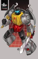 25/34 Grimlock by FranciscoETCHART