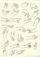 Hands practice by TuDoRlUcIa