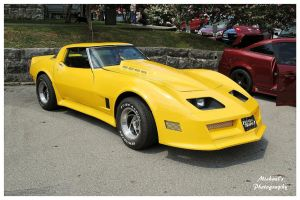 Tommy's Yellow Corvette by TheMan268