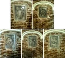 Wall tomb plaques by TimBakerFX