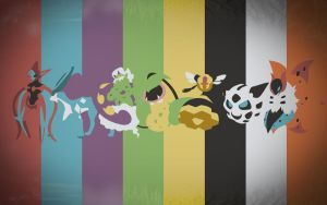 Pokemon Spectrum Wallpaper - T by EYEofXANA