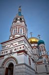 Uspensky Cathedral, Omsk 2 by chaoscollapse