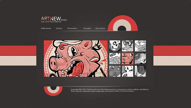 Artnew design's  simple web by Logotipai