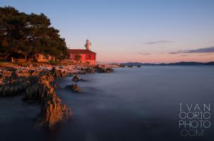 Puntamika lighthouse by ivancoric