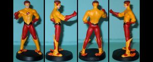 DCU Kid Flash Bart Allen custom figurine by Ciro1984