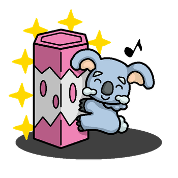 Shiny Komala + Koala's March by shawarmachine