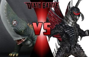 DEATH BATTLE: Guiron vs Gigan by G-Odzilla