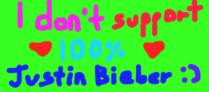 I don't support JB Card by Peachy-Pink10