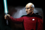 Picard Speed Paint by clc1997