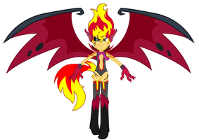 Sunset Shimmer - Satan Soul by REMcMaximus