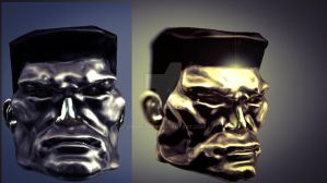 Colossus X-Men headshot model by Gman20999