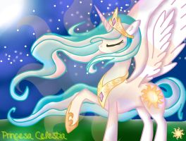 Princess Celestia by MarshmallowWithChoco