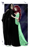 Severus+Emily-First Ball by RedPassion