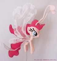Breezie Pinkie Pie inspired plush by mmmgaleryjka