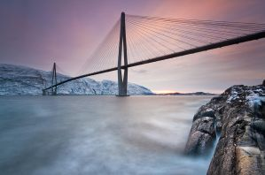 Helgeland Bridge II by KennethSolfjeld