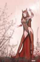 Scarlet Witch by paradoxvem