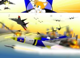 Tails In Combat by GoneIn10Seconds