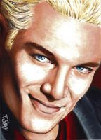 Spike Evil Grin Sketch Card by Dr-Horrible