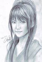 Pencil: Takamina by zamboze