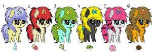 Pony Adopt Pack :) :closed: by Smosher247