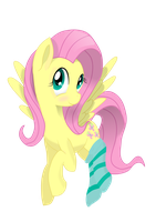 Lovely Fluttershy by LucasH-EquipeNaxus