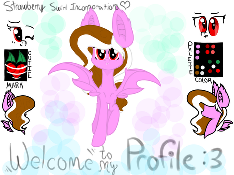 OC reference sheet/welcome by StrawberrySwirlinc