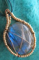 Labradorite Pendant 3 by Windthin