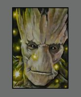 Groot ACEO by sullen-skrewt
