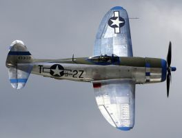 Republic P-47D Flyby by shelbs2