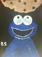Quick Cookie Monster by sampson1721