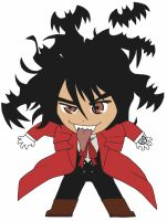 Chibi: Alucard by animereviewguy
