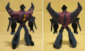Custom plush - Starscream by silentorchid