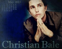 Christian Bale May 2013 by LisenaPirus