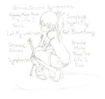 Gimme Gimme Symphonies by SqueekyTheBalletRat
