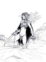 RED SONJA by Mich974