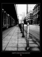 Empty End of Frankfurt by Spellduckwrong