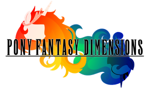 Pony Fantasy Dimensions Logo by TheAuthorGl1m0